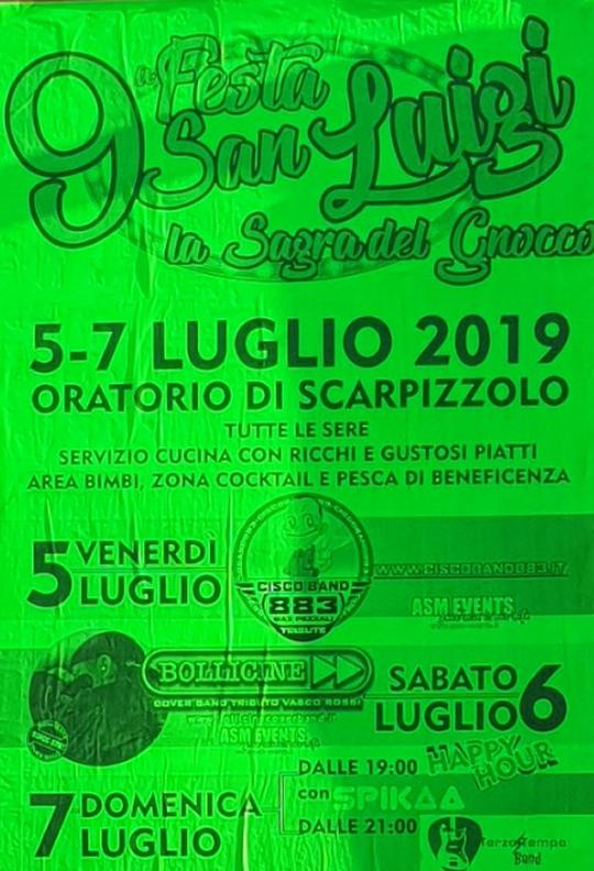 Festa di San Luigi La Sagra del Gnocco a Scarpizzolo