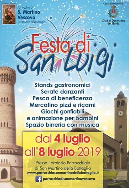 Festa di San Luigi a San Martino della Battaglia