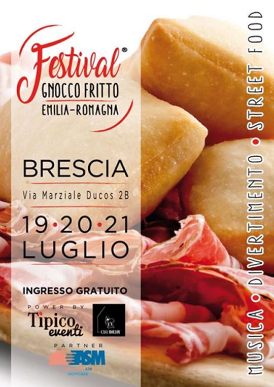 Festival Gnocco Fritto & Emilia Romagna a Brescia