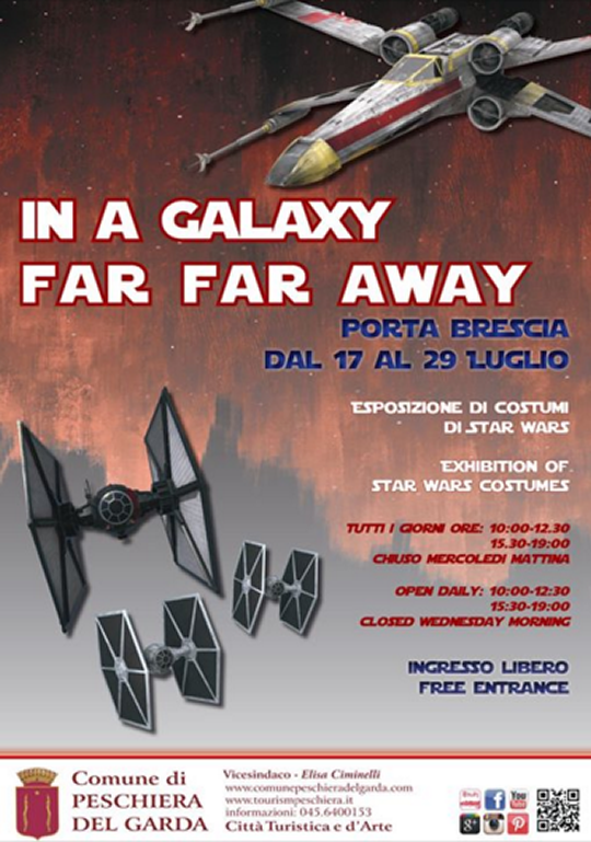 In a Galaxy Far Far Away a Peschiera del Garda