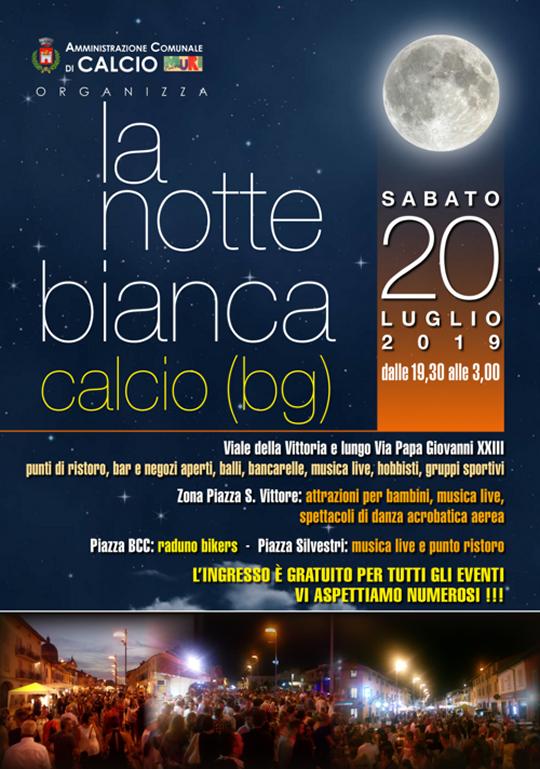 Notte Bianca a Calcio (BG)