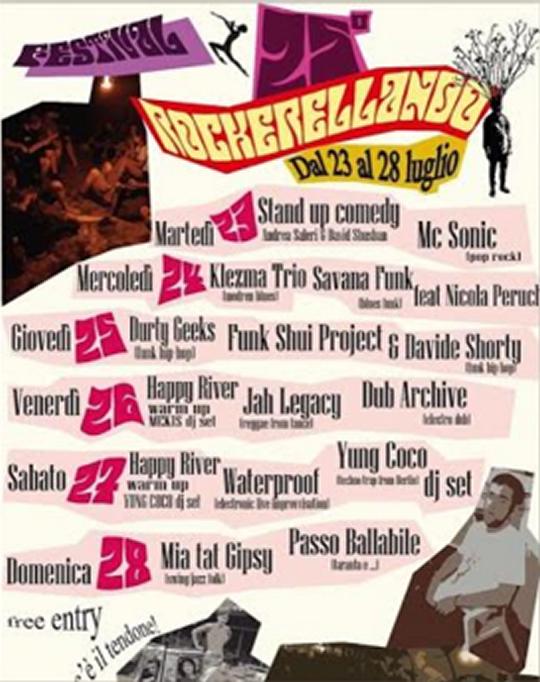 Rockerellando Music Festival a Toscolano Maderno