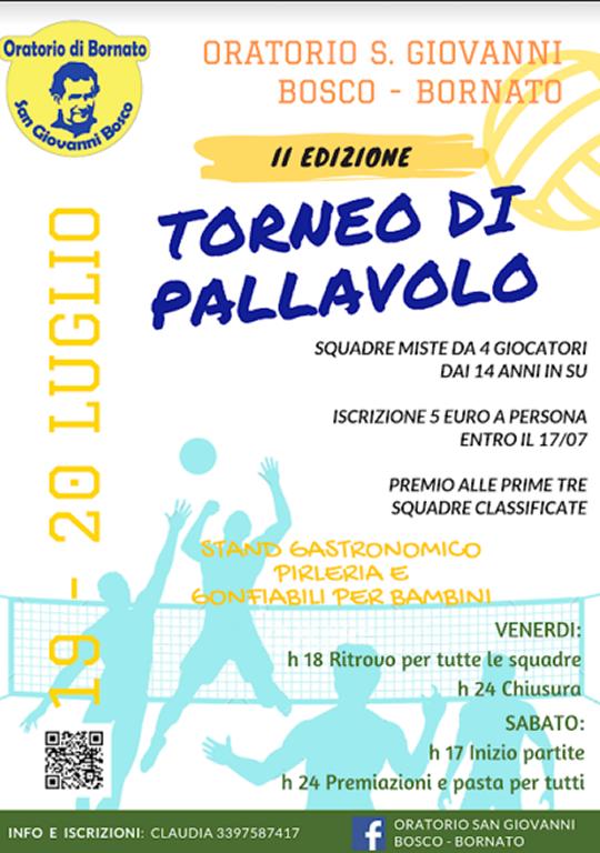 Torneo pallavolo - Oratorio Bornato
