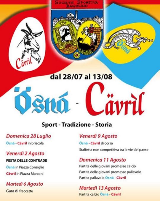 Ösnà-Cävríl a Bagolino