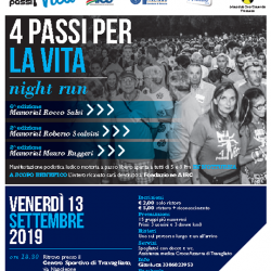4 Passi per la Vita Night Run a Travagliato