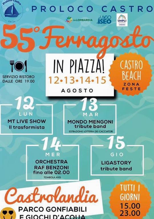 55 Ferragosto in Piazza a Castro