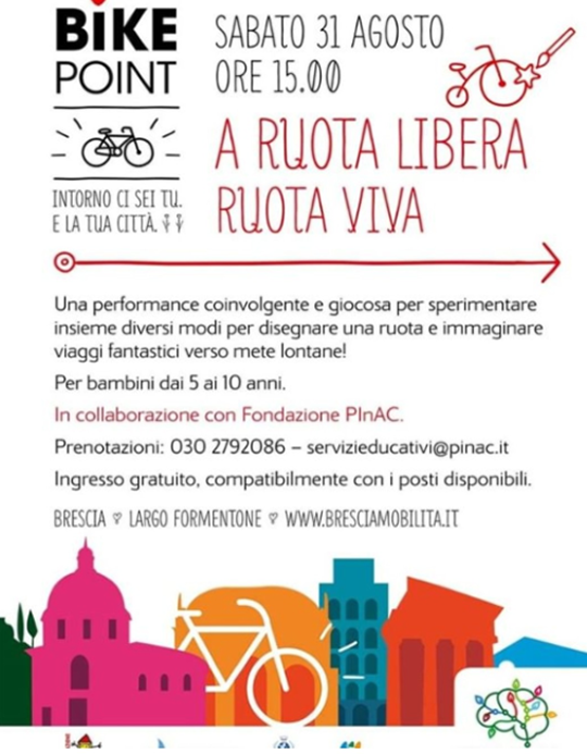 A Ruota Libera Ruota Viva a Brescia