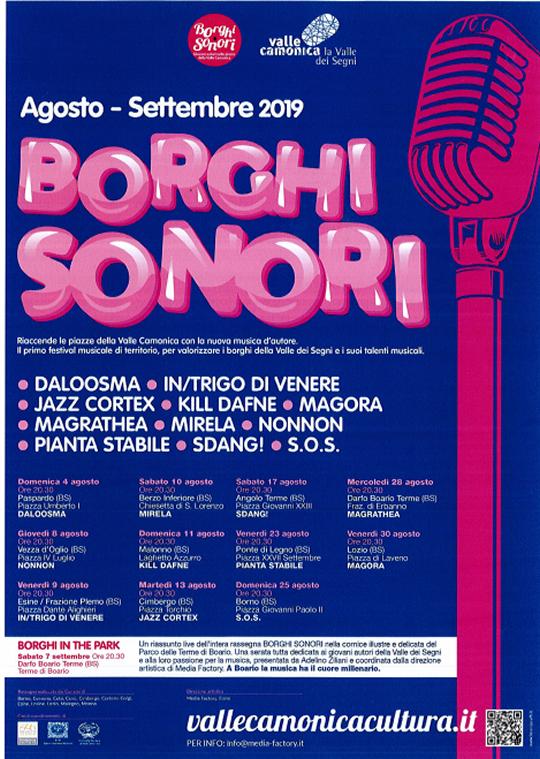 Borghi Sonori in Valle Camonica