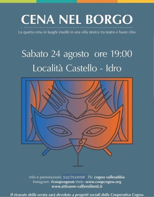 Cena del Borgo a Idro