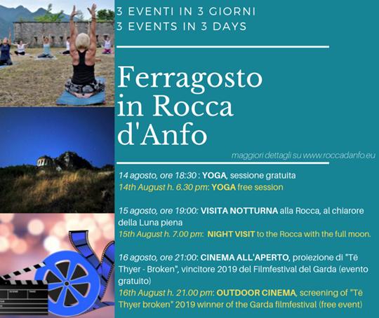 Ferragosto in Rocca d'Anfo