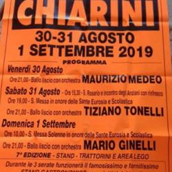 Festa Frazione Chiarini a Montichiari
