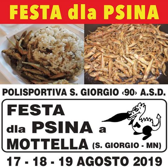 Festa della Psina a Mottella San Giorgio MN