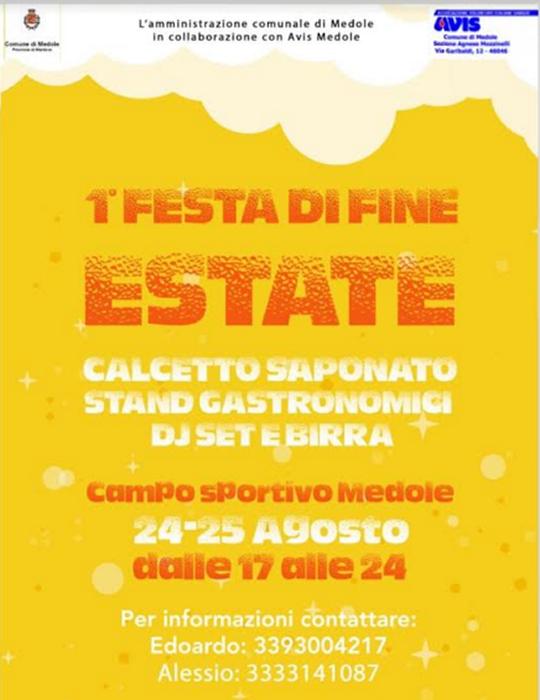 Festa di Fine Estate a Medole MN