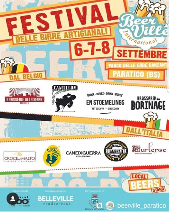 Festival delle Birre Artigianali a Paratico