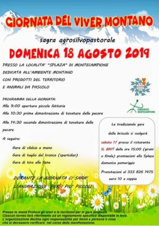 Giornata del Viver Montano a Montecampione