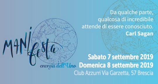 Mani Festa Energia dell'Uno a Brescia