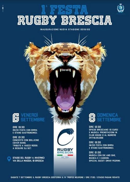 Prima Festa del Rugby Brescia