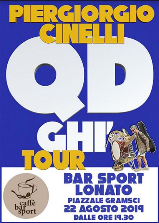 Qd ghi tour con Piergiorgio Cinelli a Lonato