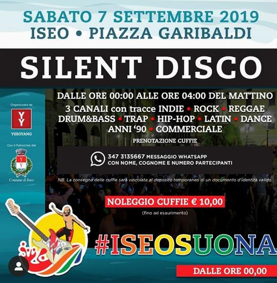 Silent Disco a Iseo