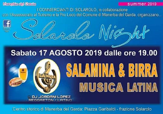 Solarolo Night a Manerba del Garda