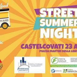 Street Summer Night a Castelcovati