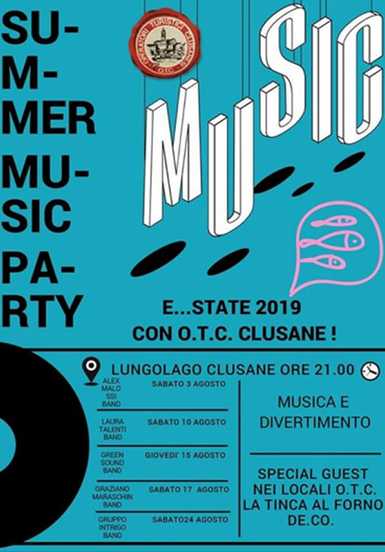 Summer Music Party a Clusane