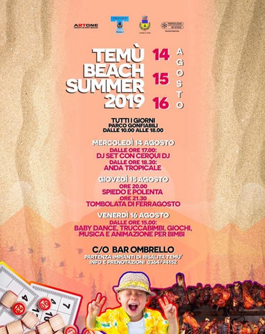 Temù Beach Summer