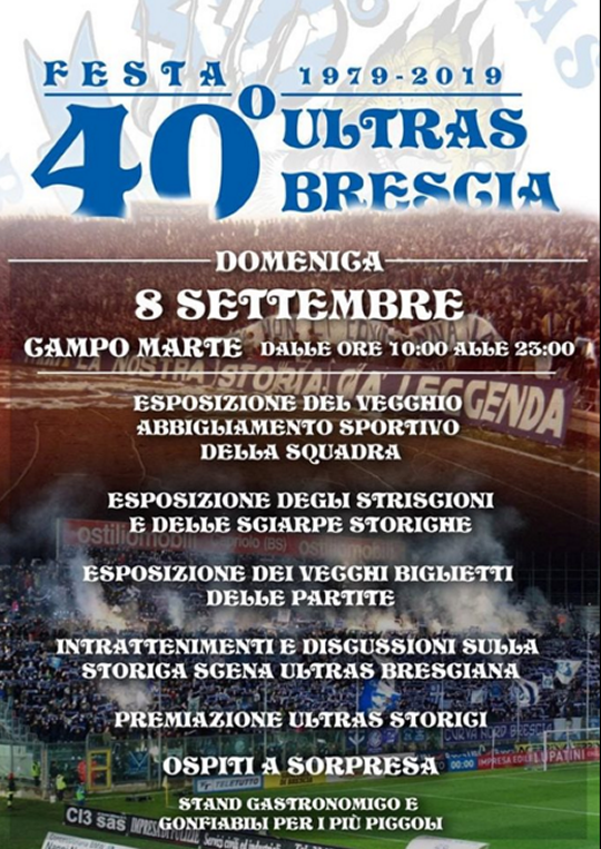 40 Festa Ultras Brescia