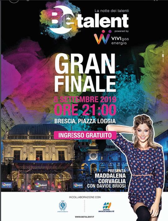 Be Talent Gran Finale a Brescia