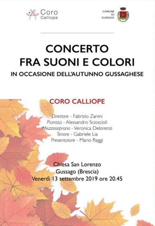 Concerto fra Suoni e Colori a Brescia