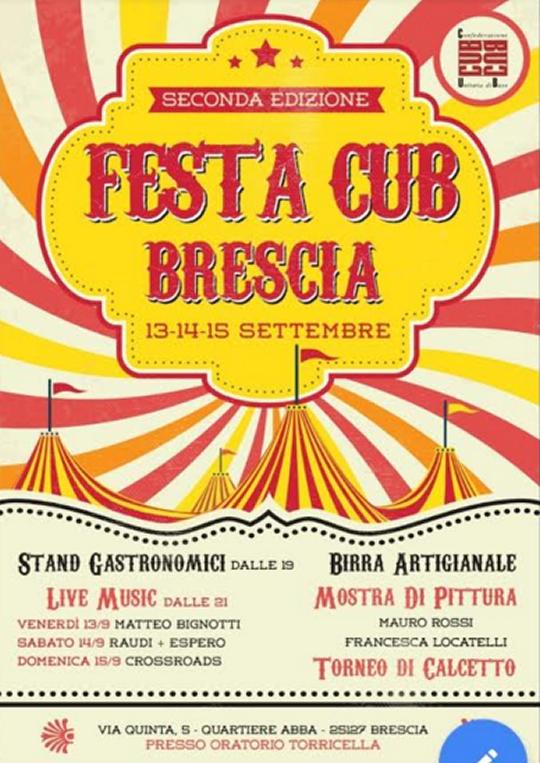 Festa Cub Brescia