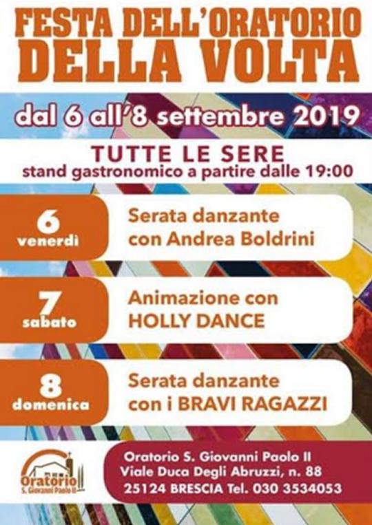 Festa Dell'Oratorio della Volta a Brescia