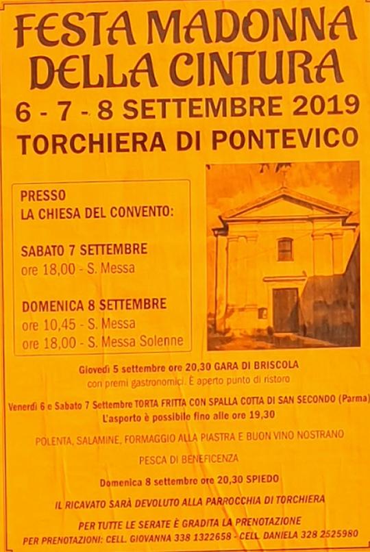 Festa Madonna della Cintura a Pontevico