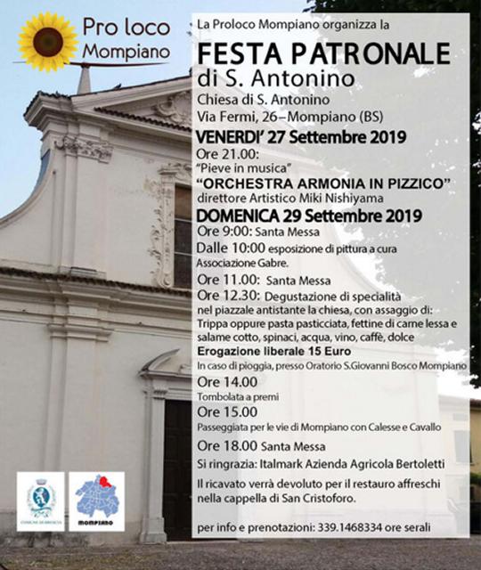 Festa Patronale di Sant'Antonino a Mompiano