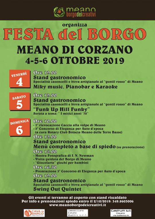 Festa del Borgo a Meano di Corzano