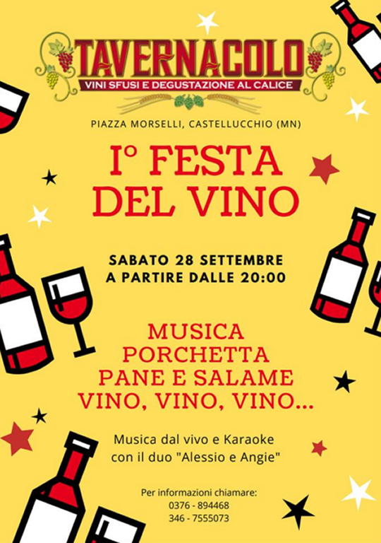 Festa del Vino a Castellucchio MN
