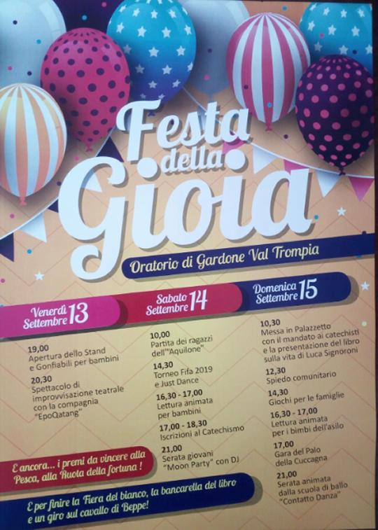 Festa della Gioia a Gardone VT