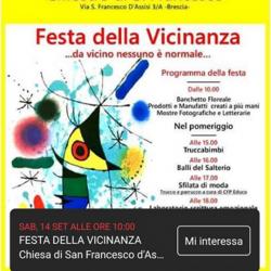 Festa della Vicinanza a Brescia