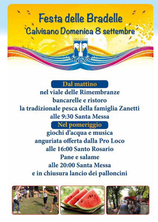 Festa delle Bradelle a Calvisano