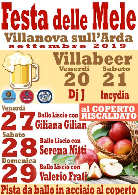 Festa delle Mele a Villanova sull'Arda PC