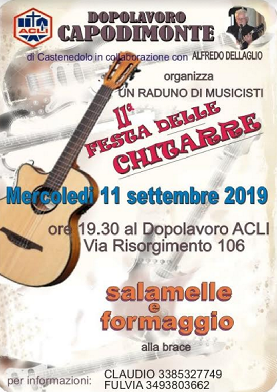 Festa delle chitarre a Castenedolo