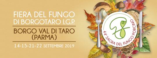 Fiera del Fungo di Borgotaro IGP a Borgo Val di Taro PR