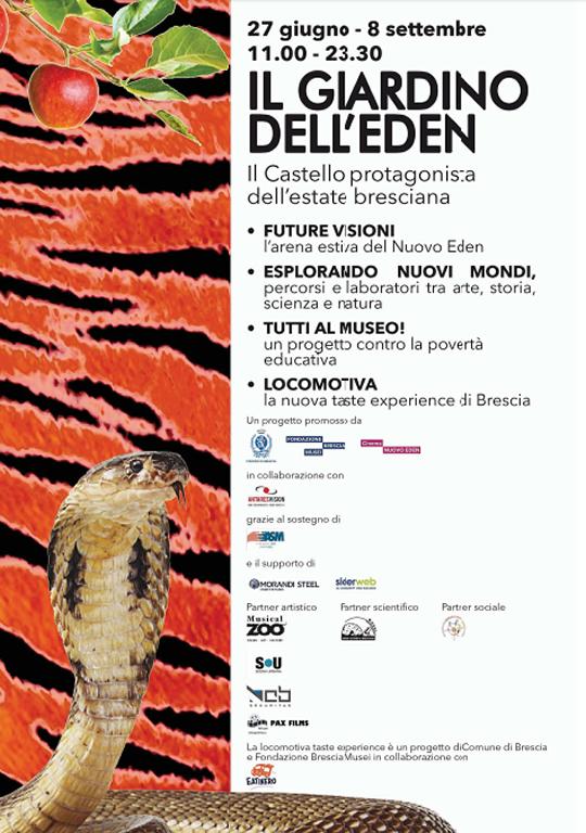 Il Giardino dell'Eden a Brescia