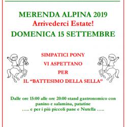 Merenda Alpina al Parco Pescheto Brescia