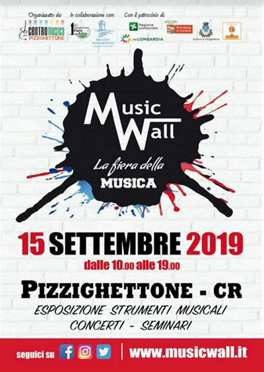 Music Wall a Pizzighettone CR