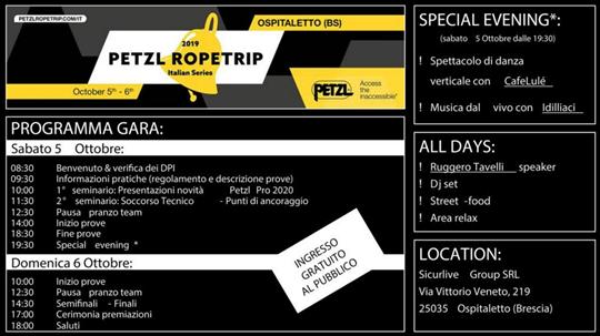 Petzl Ropetrip a Ospitaletto