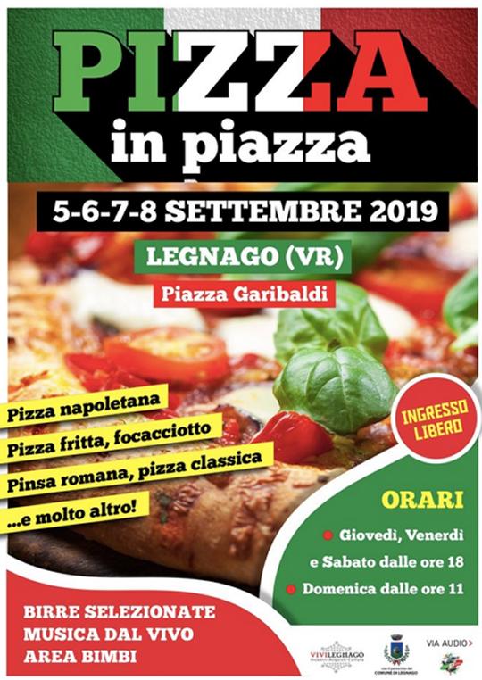Pizza in Piazza a Legnago VR