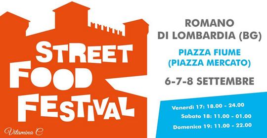 Romano Street Food Festival a Romano di Lombardia BG