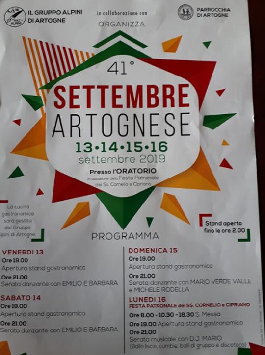 Settembre Artognese