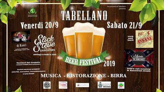 Tabellano Beer Festival a Tabellano di Suzzara MN